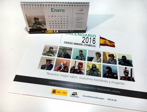 Calendario Fuerzas Armadas 2016